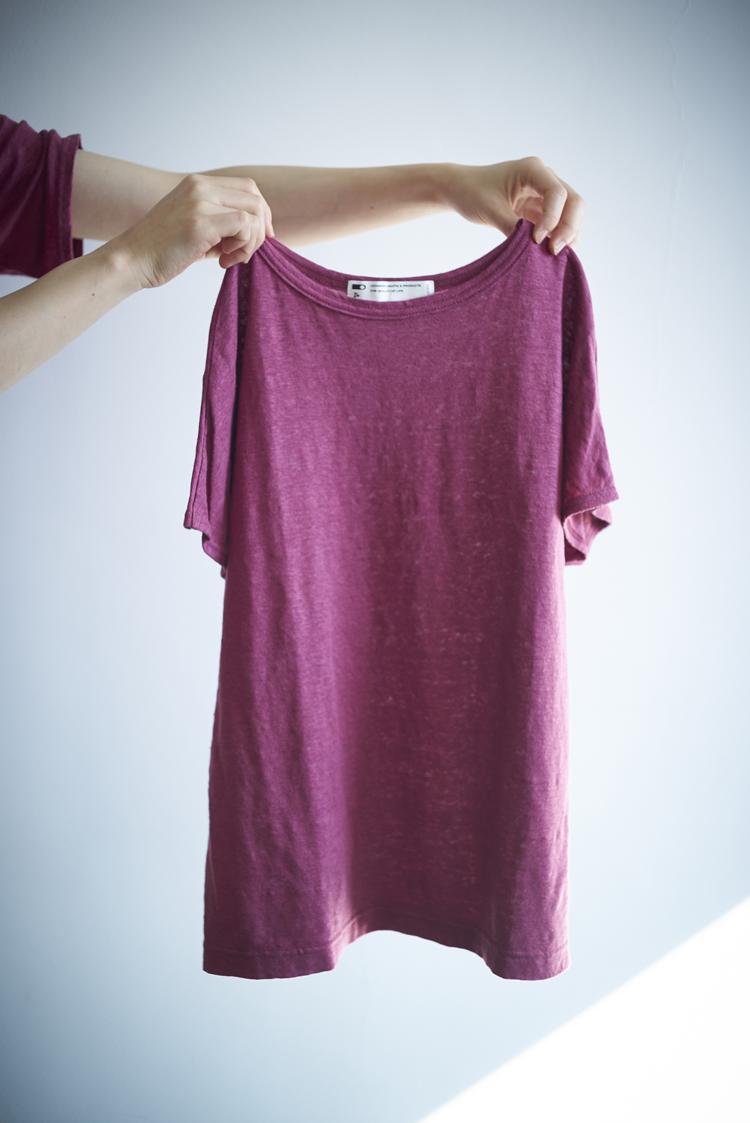 CLASKA(クラスカ)のリネンTシャツ
