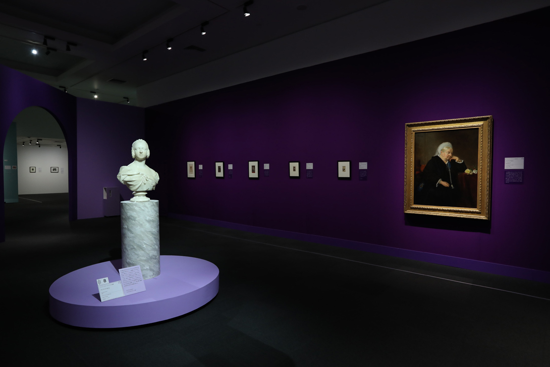 ヴィクトリア女王の時代の展示室