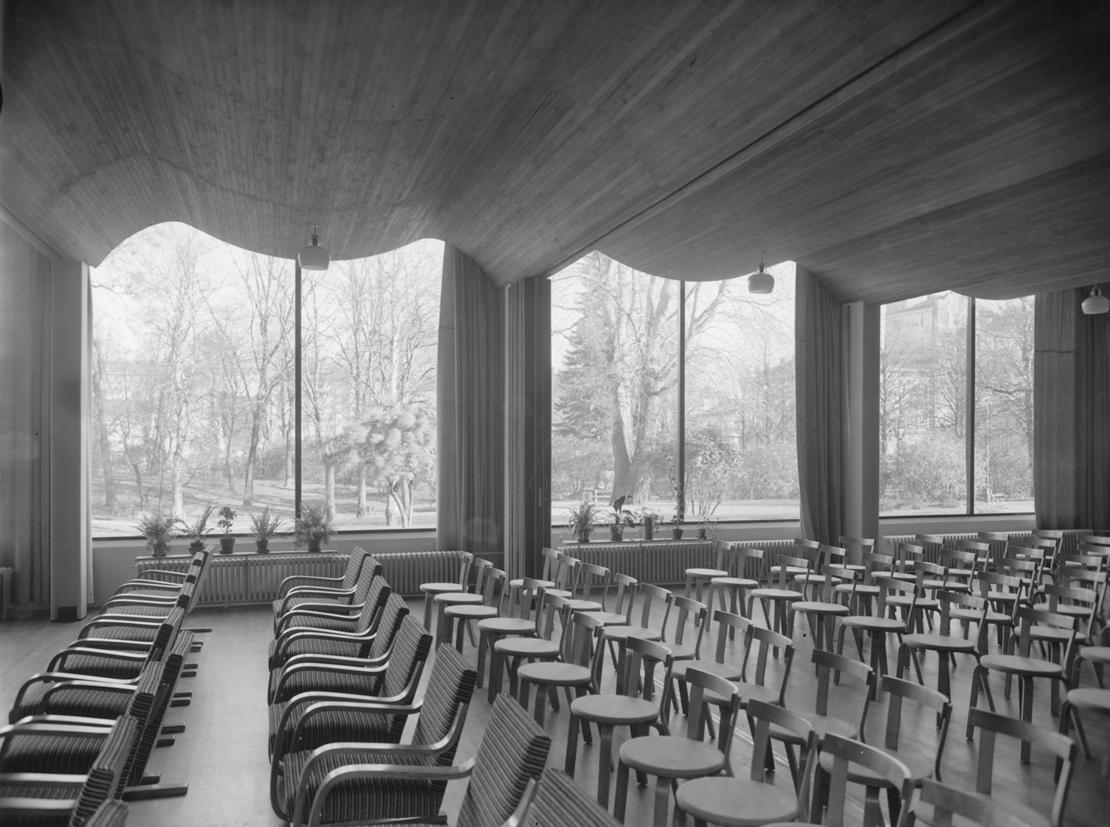 ヴィープリの図書館 講堂
