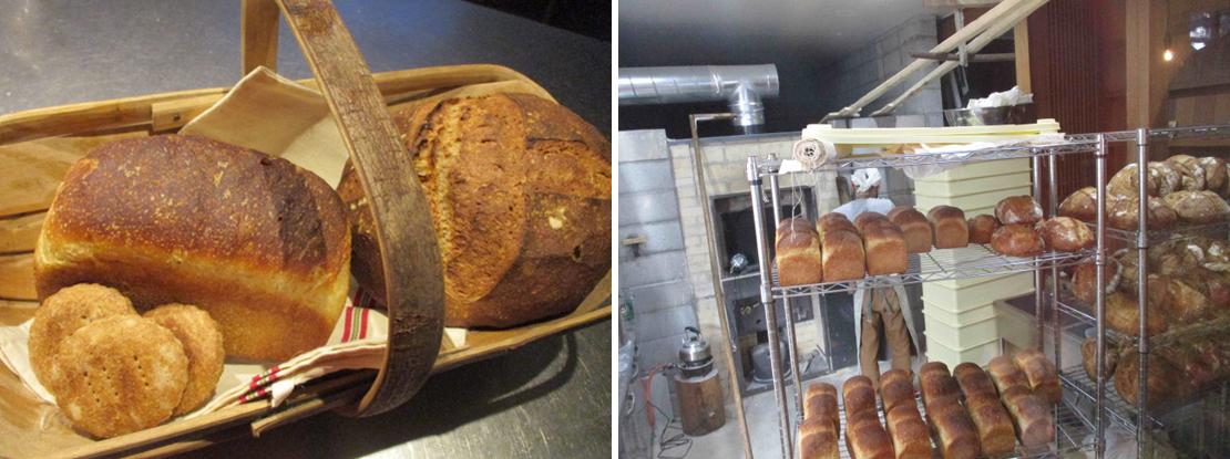 パン屋塩見のカンパーニュと食パンとKATAIビスケット