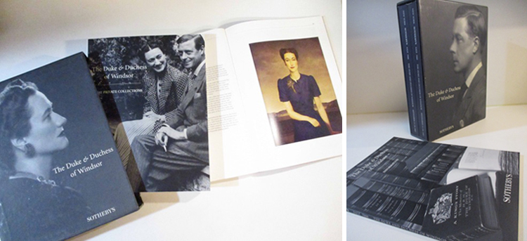 『Property from the collection of the Duke & Duchess of Windsor Sotheby's auction』