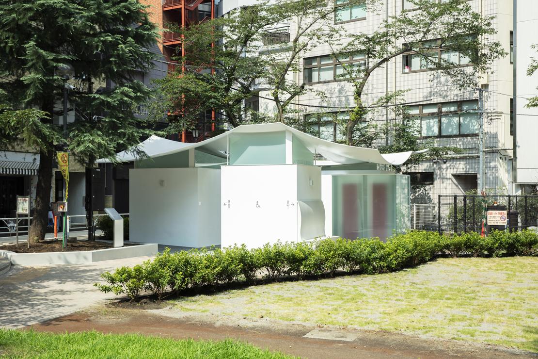 槇文彦設計の「THE TOKYO TOILET」
