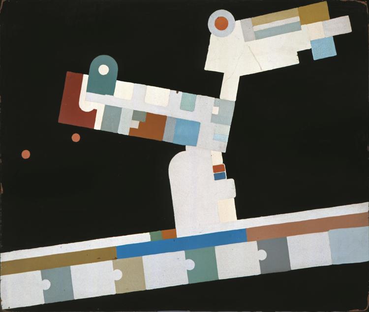エイノ・カウリア/アルヴァ・アアルト、パイミオのサナトリウム1階天井色彩計画