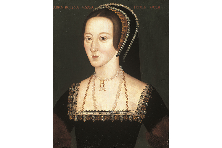ヘンリー8世の6人の妻の一人で2番目の妃であるアン・ブーリン