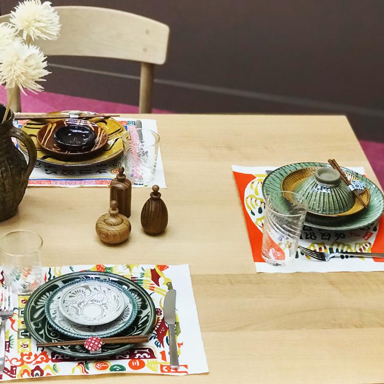 菓子研究家・福田里香さんによるテーブルコーディネート
