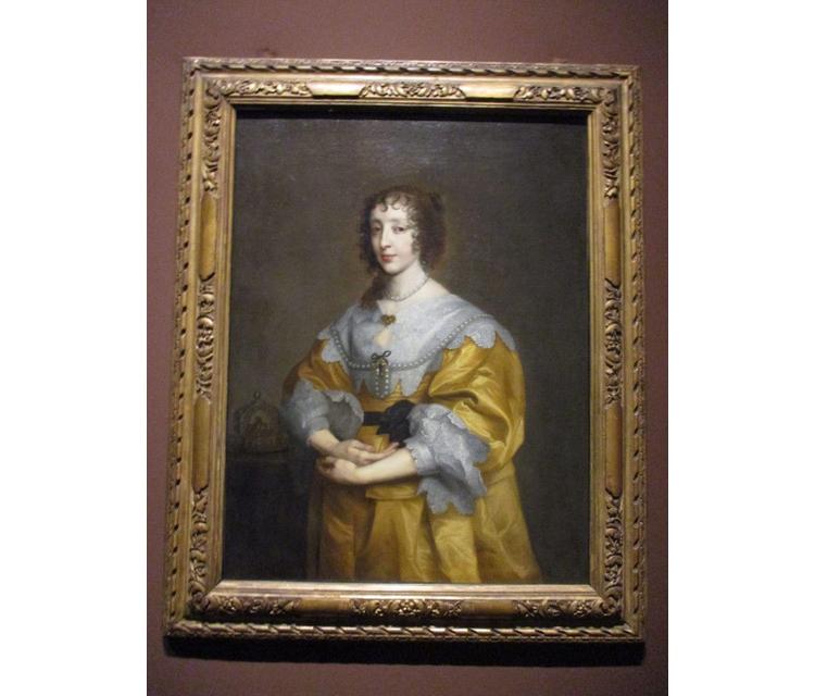 チャールズ1世の妃アンリエッタ・マリア