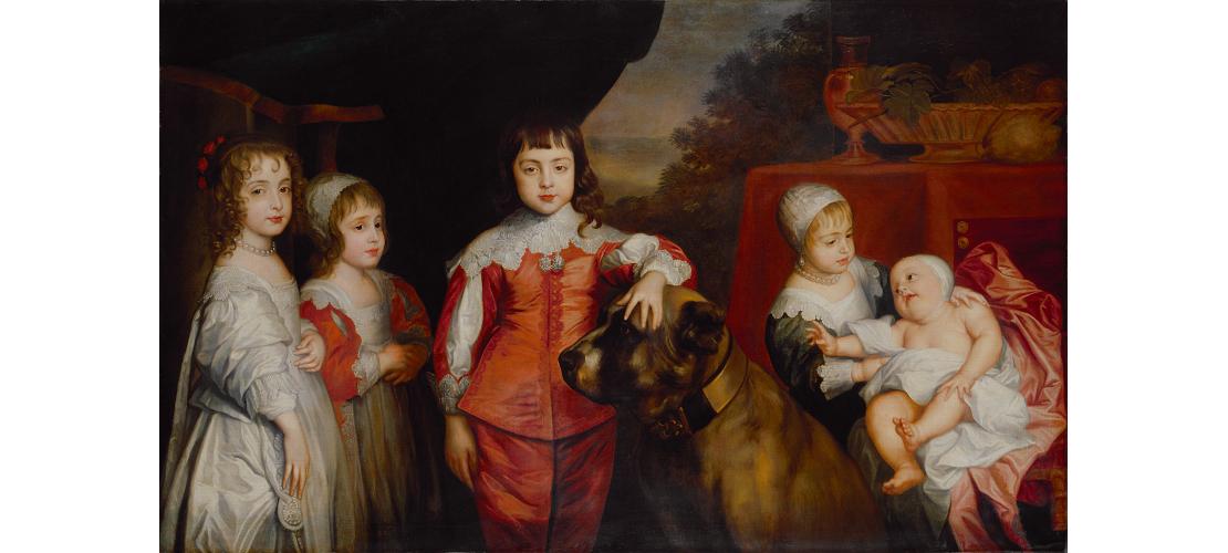 《チャールズ1世の5人の子どもたち》