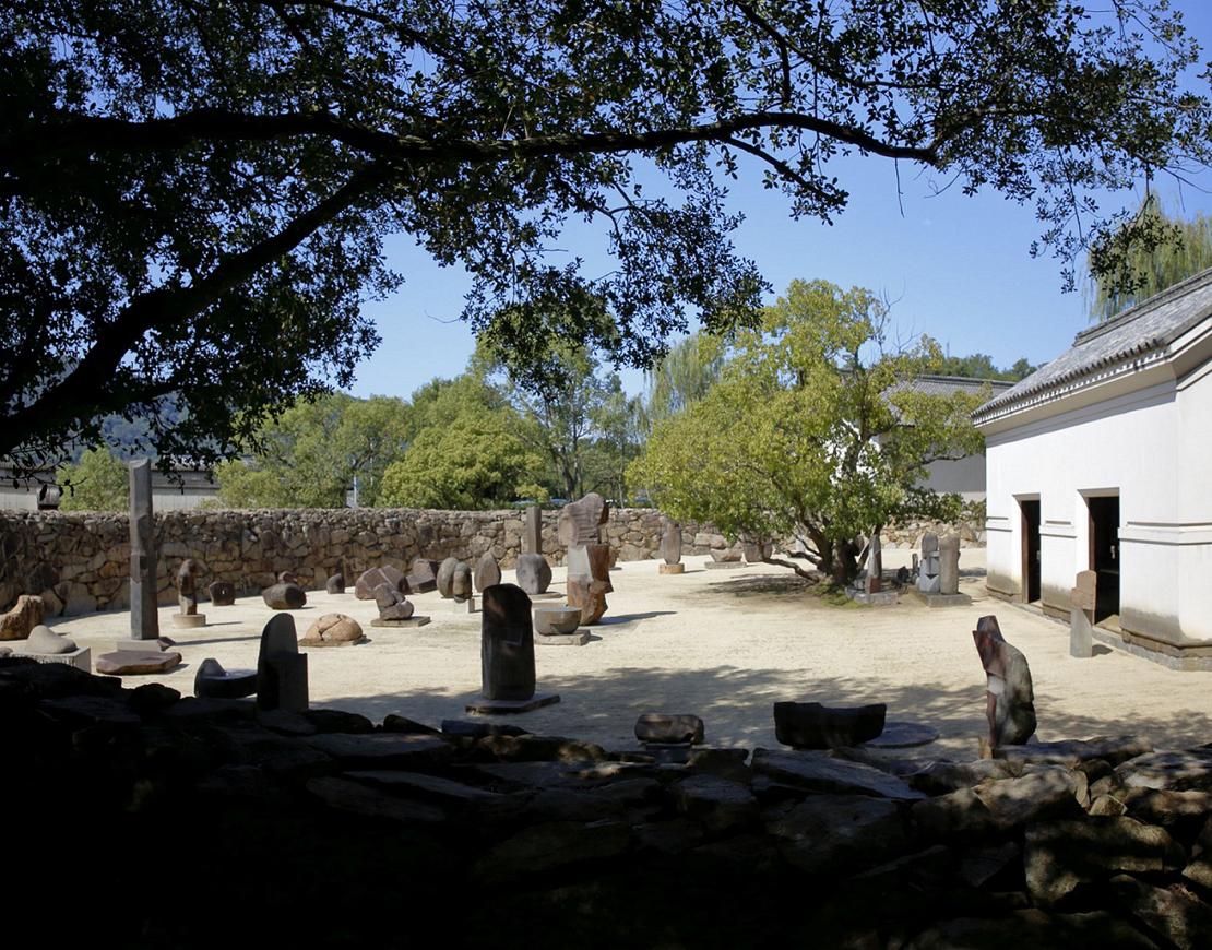 イサム・ノグチ庭園美術館 石壁サークル