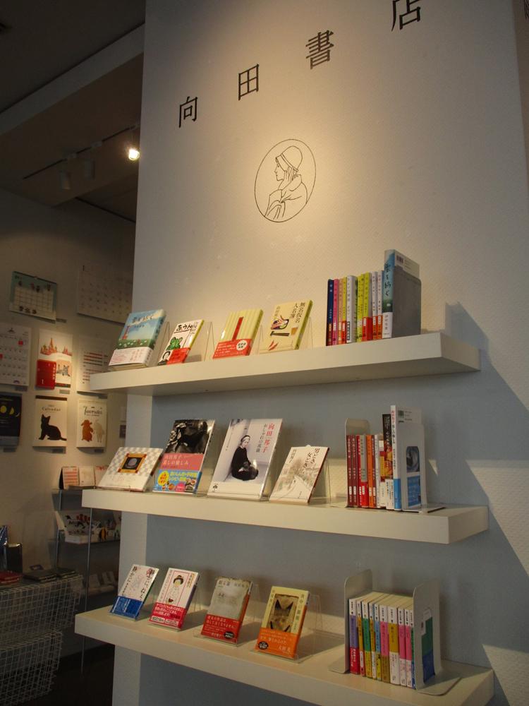 スパイラル1階のMINA-TOに特設した向田書店
