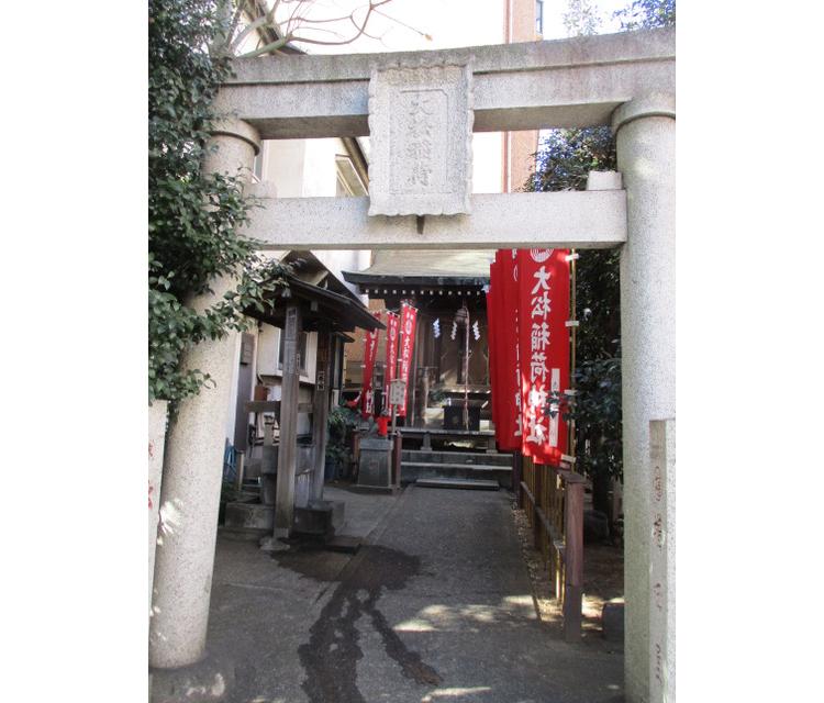南青山第一マンションズの大松稲荷神社