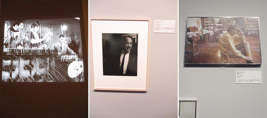 『写真家ドアノー/音楽/パリ』展の展示風景