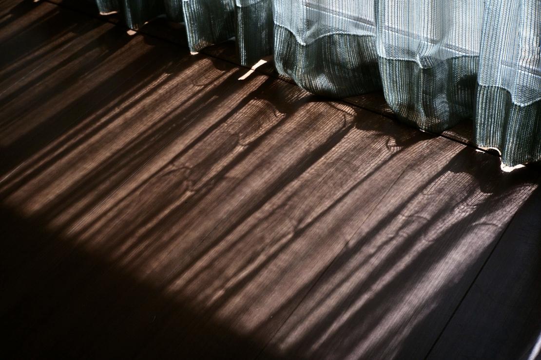 トヤマタクロウさん宅の床