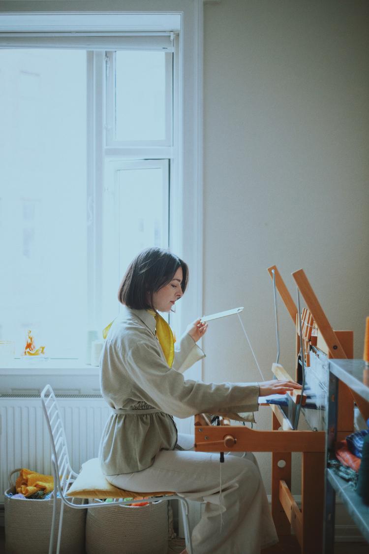 テキスタイルデザイナー・Emma Terweduwe(エマ・テルウェドウェ)さん