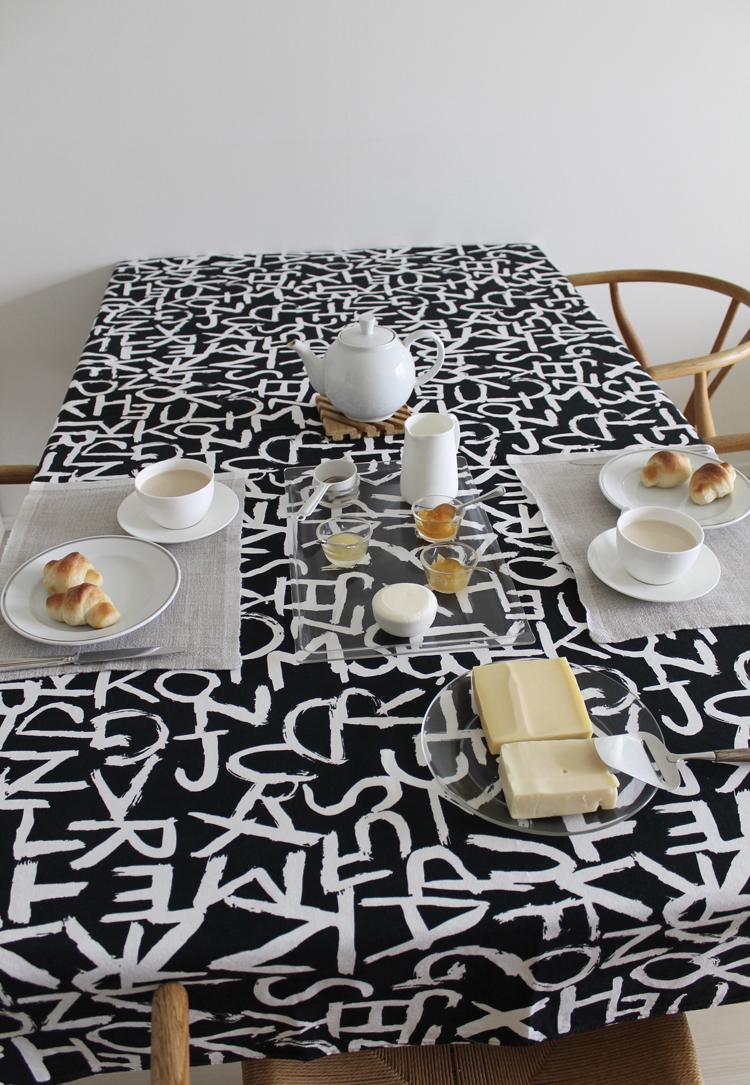 堀井和子さんの朝食のテーブル