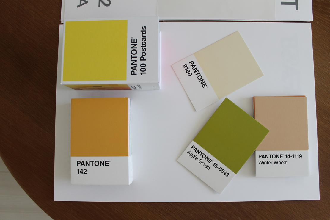 PANTONE ポストカードセット