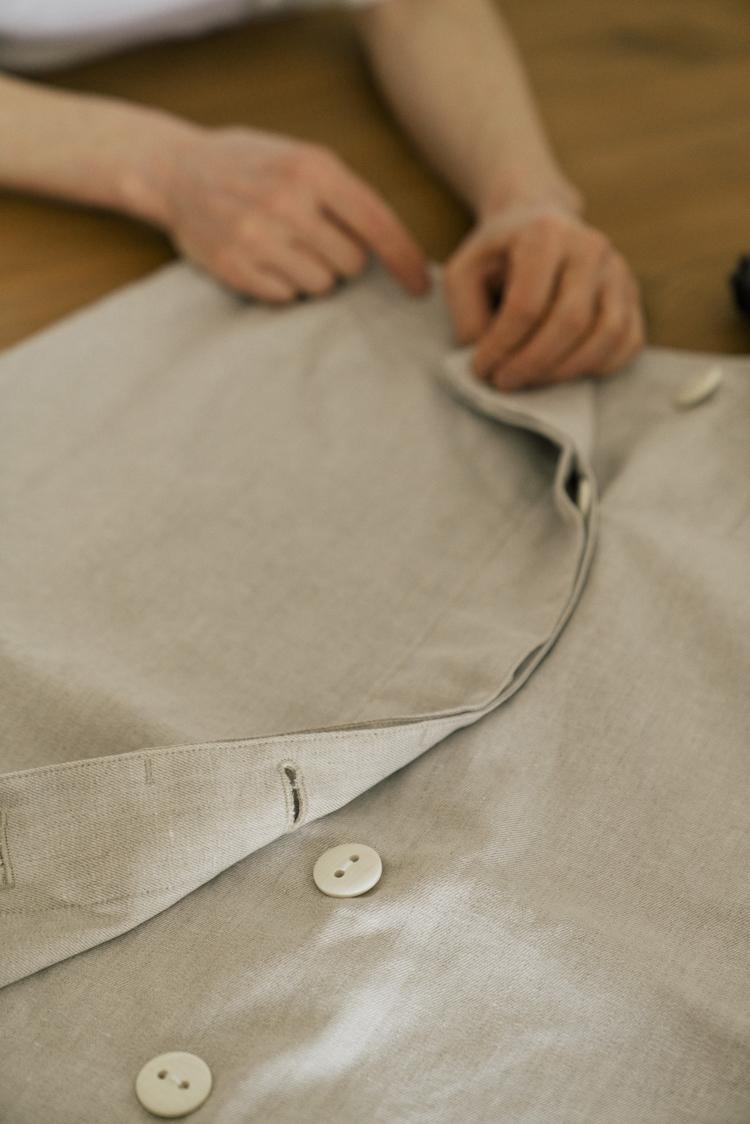 堀井和子さんとつくる服のサンプル