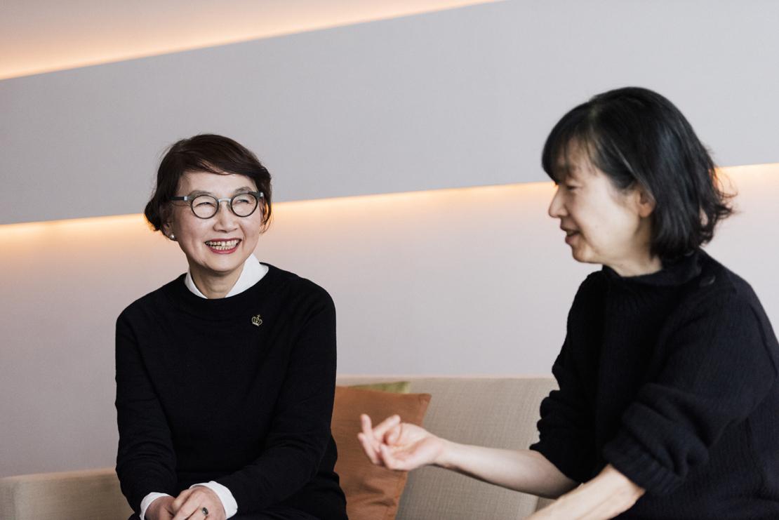 堀井和子さんと若山嘉代子さん
