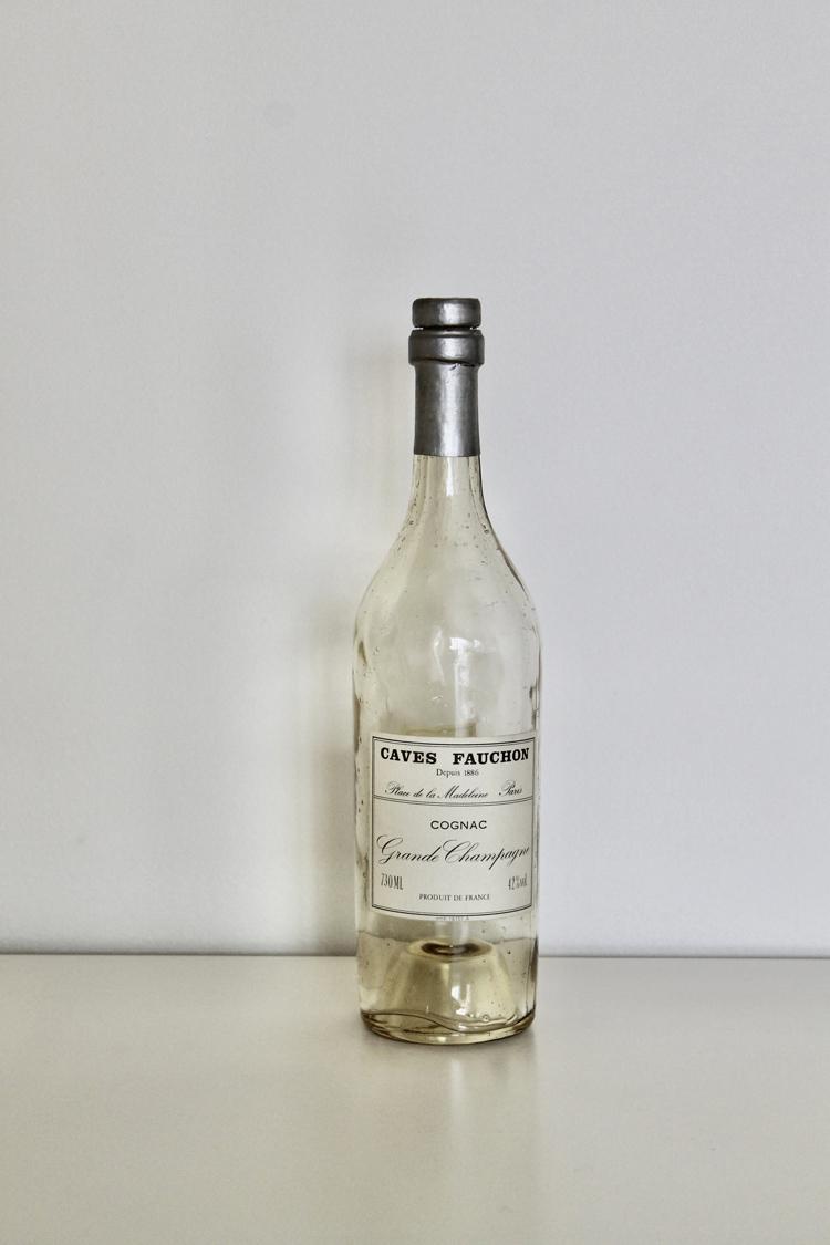 コニャックの瓶