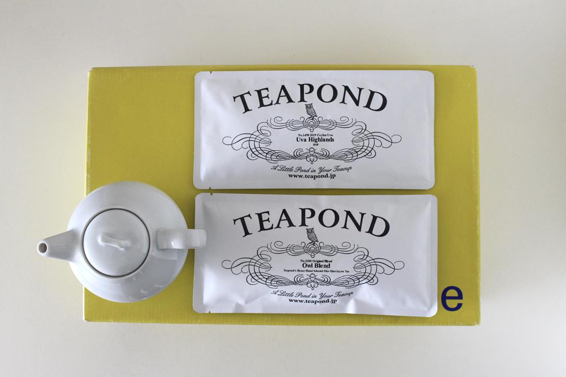 TEA PONDの紅茶