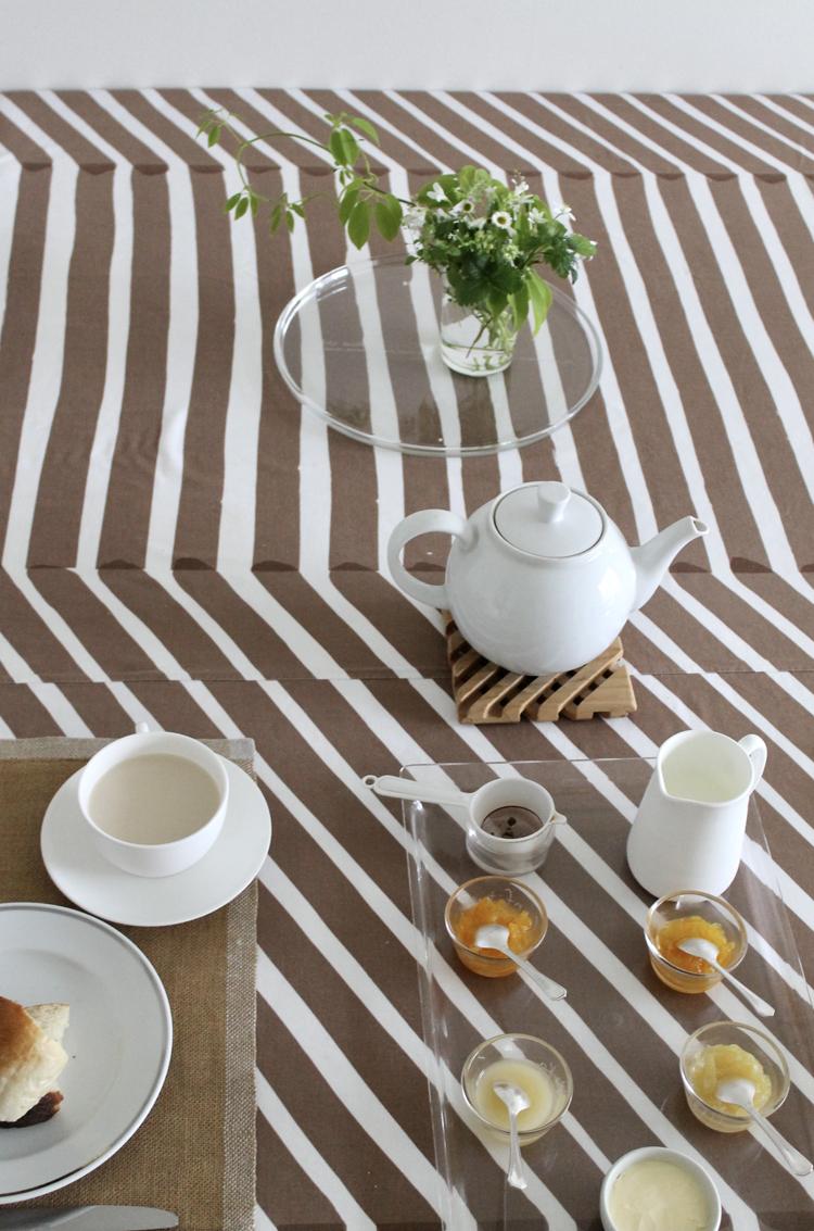 堀井和子さんの朝食の食卓の風景