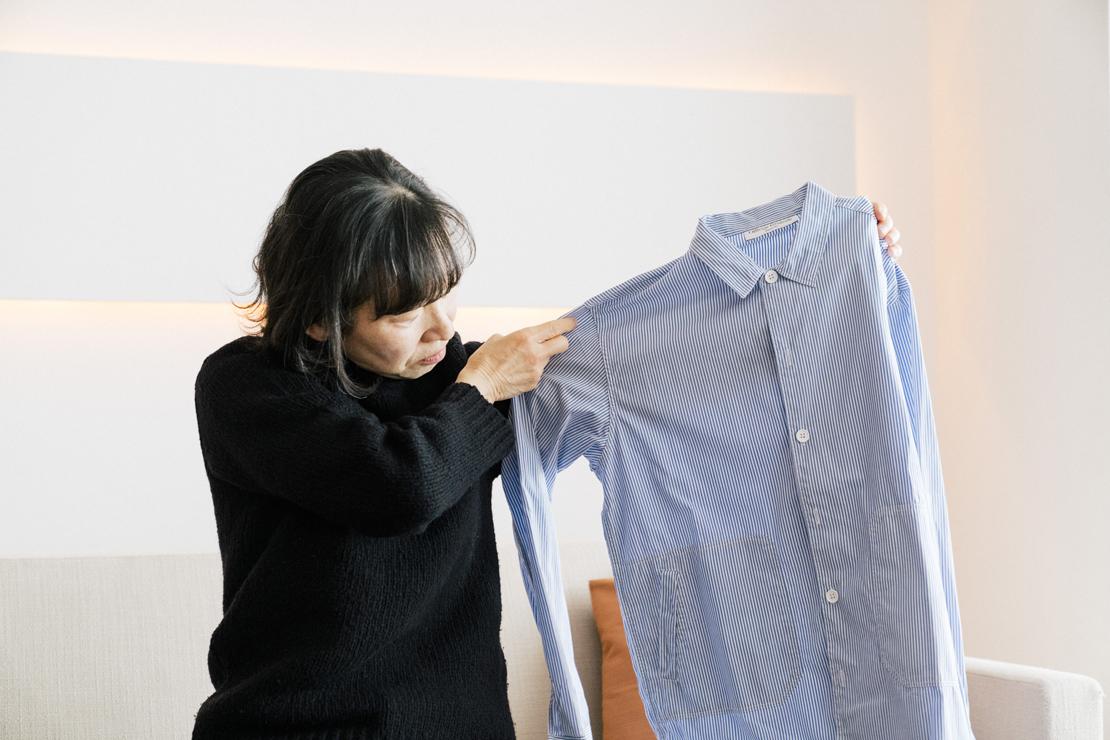 堀井和子さんが購入したメンズのシャツ