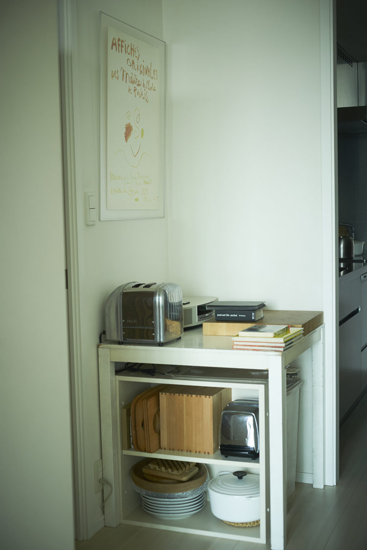 堀井和子さんの自宅風景