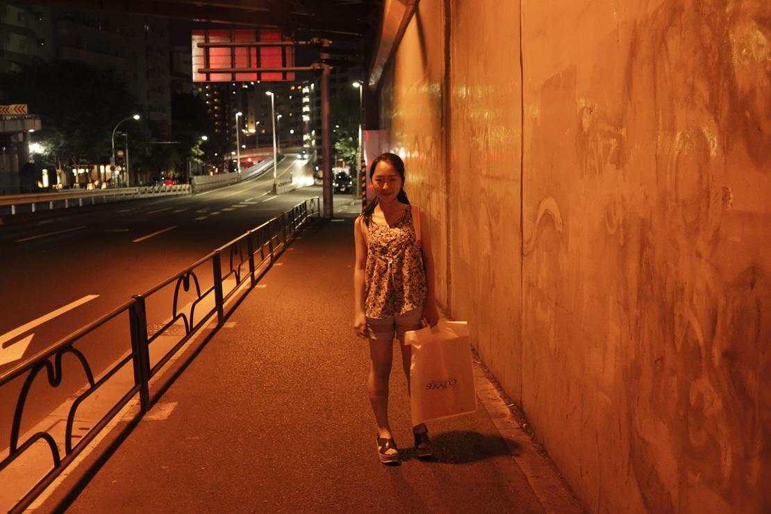 写真家・笠井爾示さんの娘さん