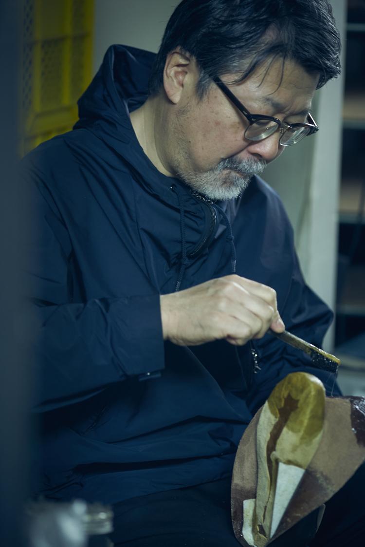 シューズブランド「nakamura」の靴の製造風景
