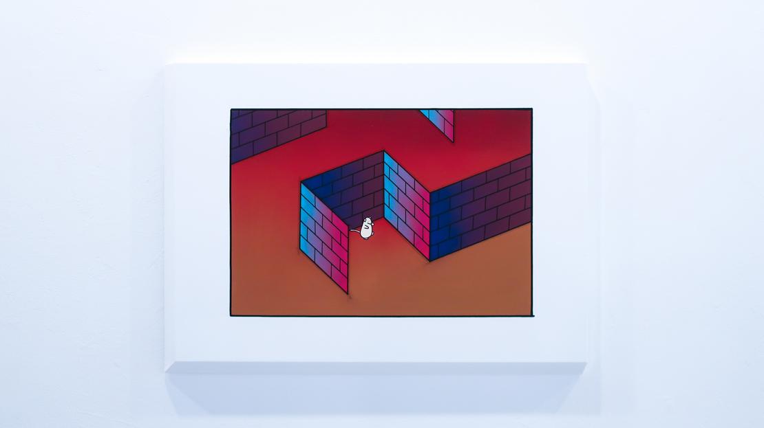 millitsukaさんのグループ展「BlockHouseVR」(2019年)の展示作品