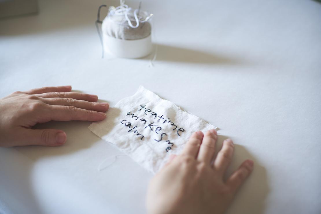 pot and tea デザイナー 松井翠さんのアトリエ
