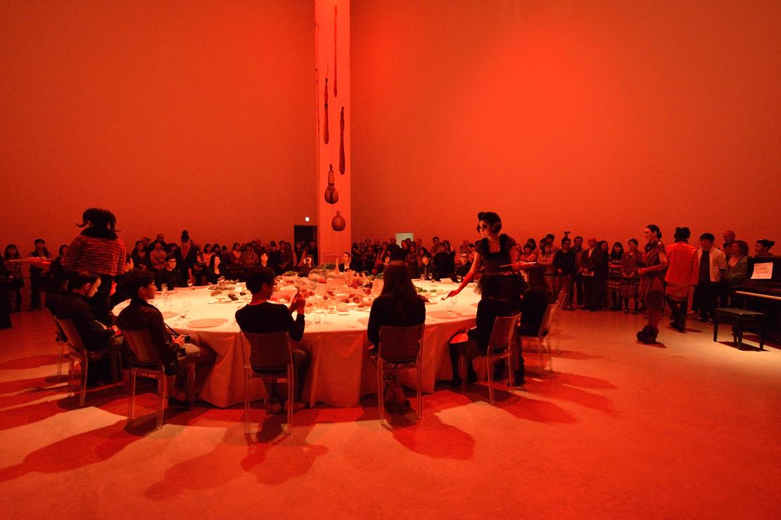 ゲリラレストラン「好奇心の祝宴at金沢21世紀美術館」