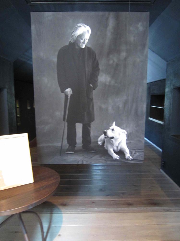 馬場浩史さんと愛犬のハク