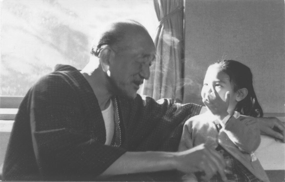 中井貴惠さんと小津安二郎監督