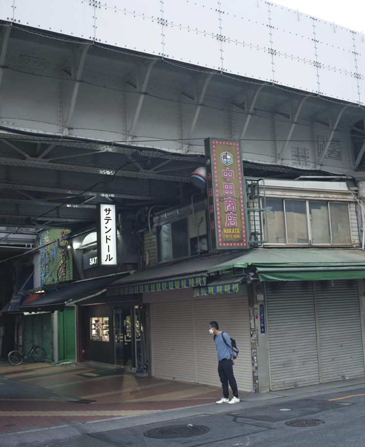 台東区上野の風景