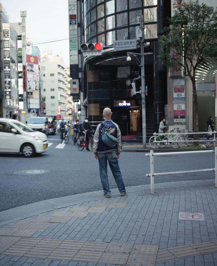 新宿区新宿の風景