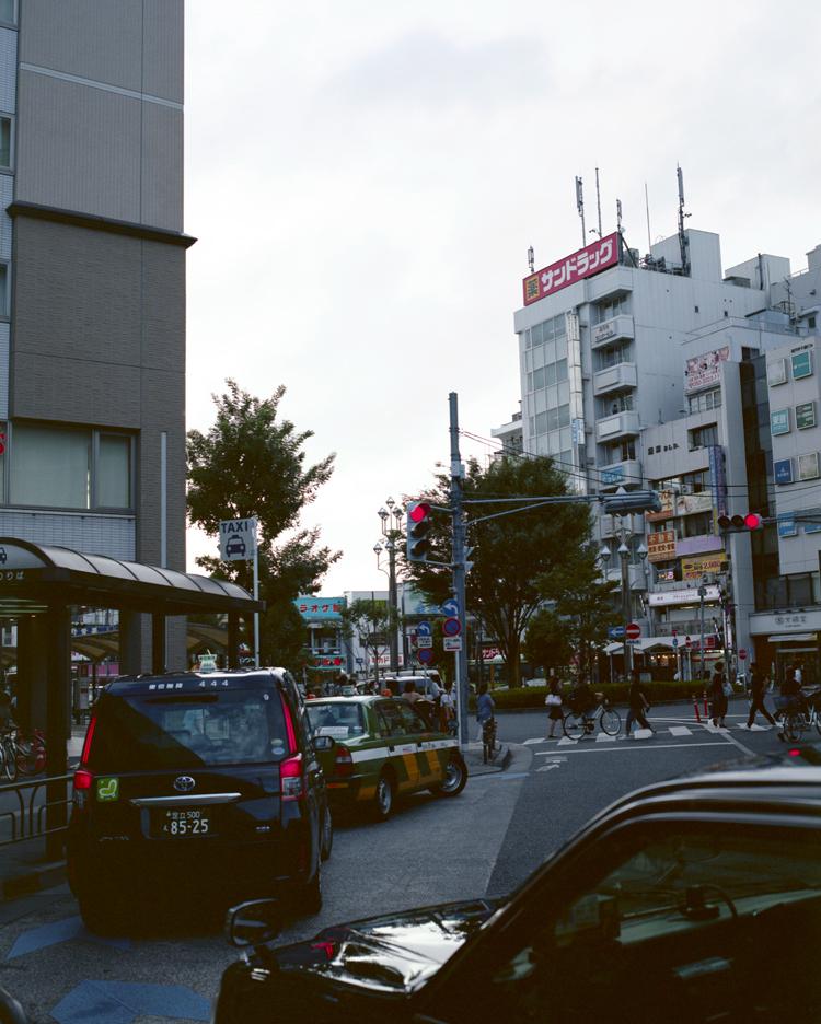 杉並区高円寺の風景