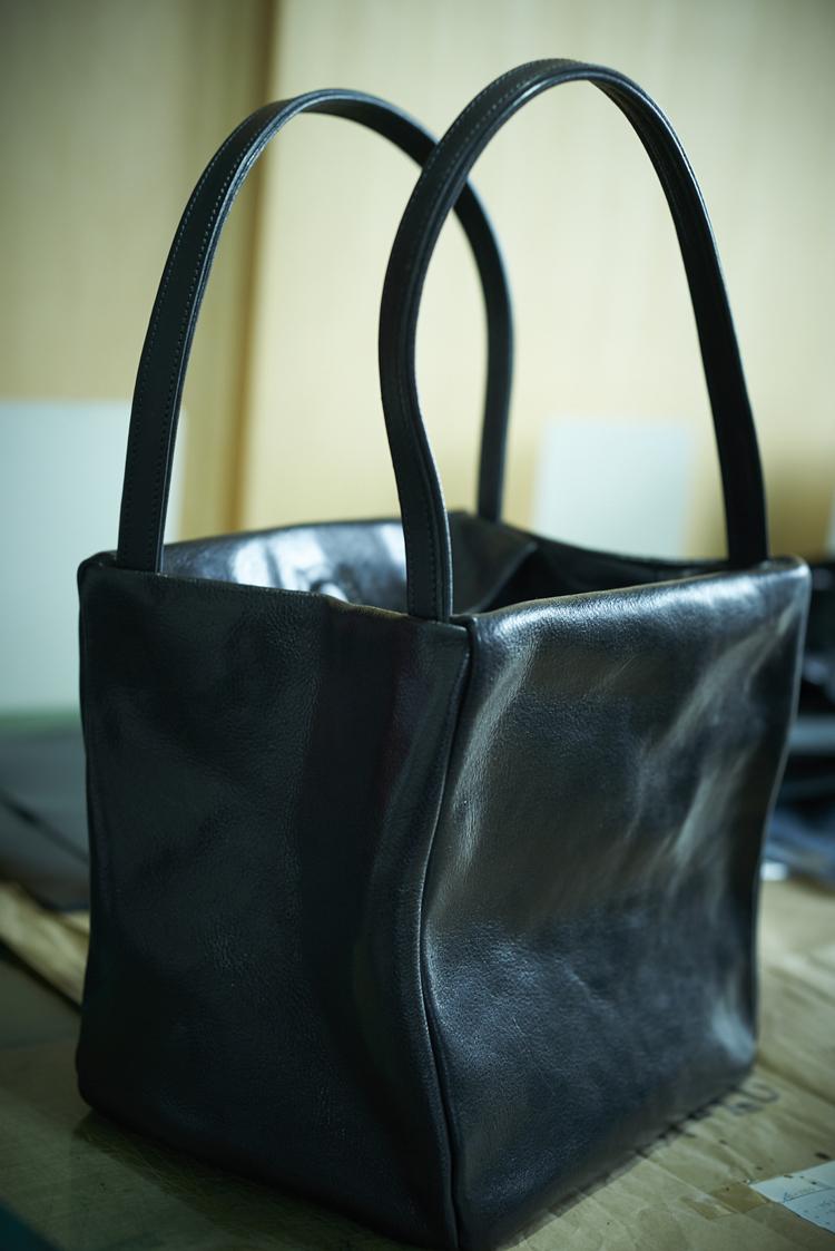 武冨ゆりさん作のバッグ