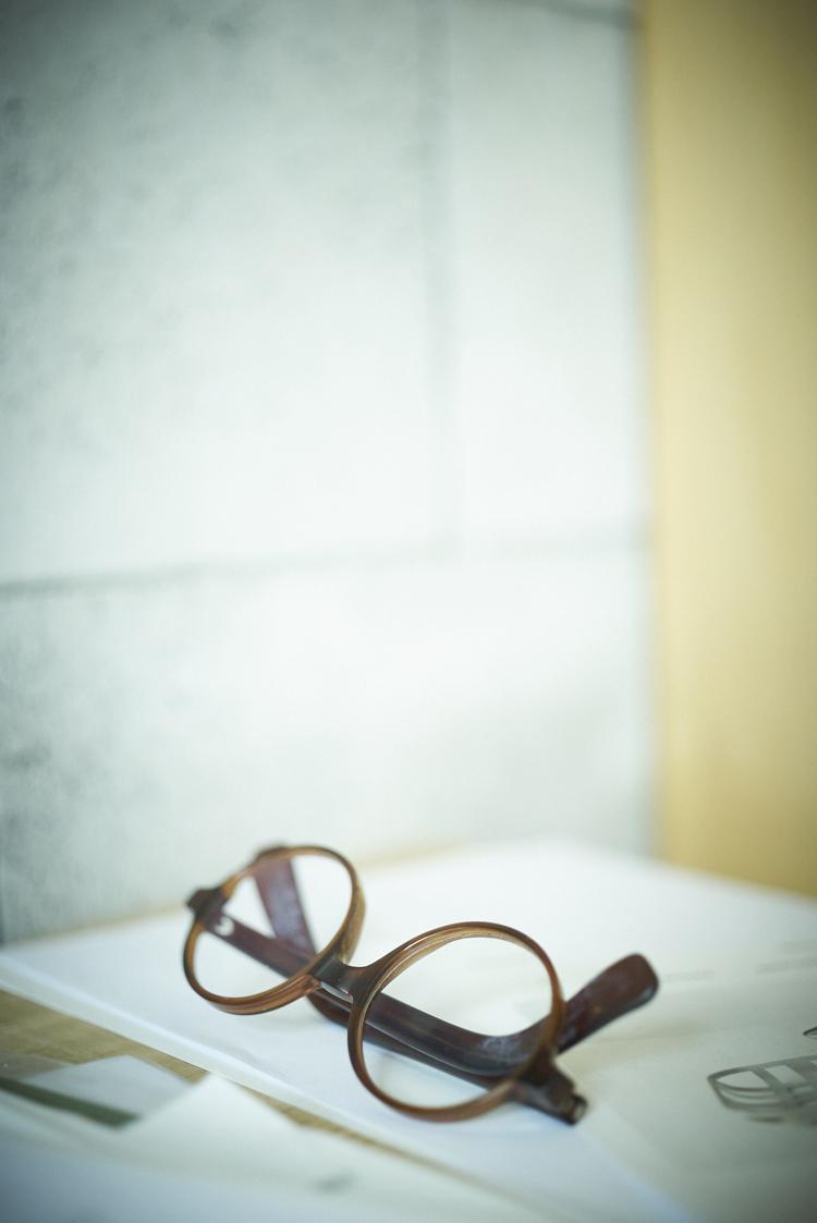 武冨ゆりさんの眼鏡