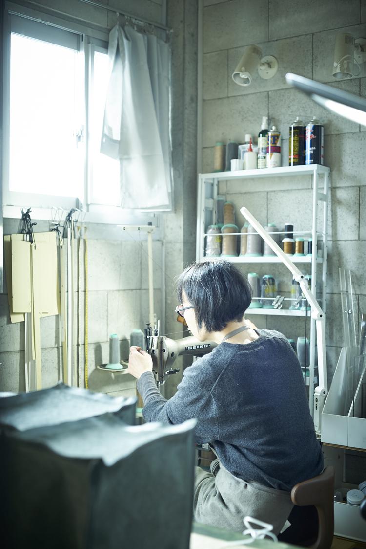 武冨ゆりさんとアトリエ