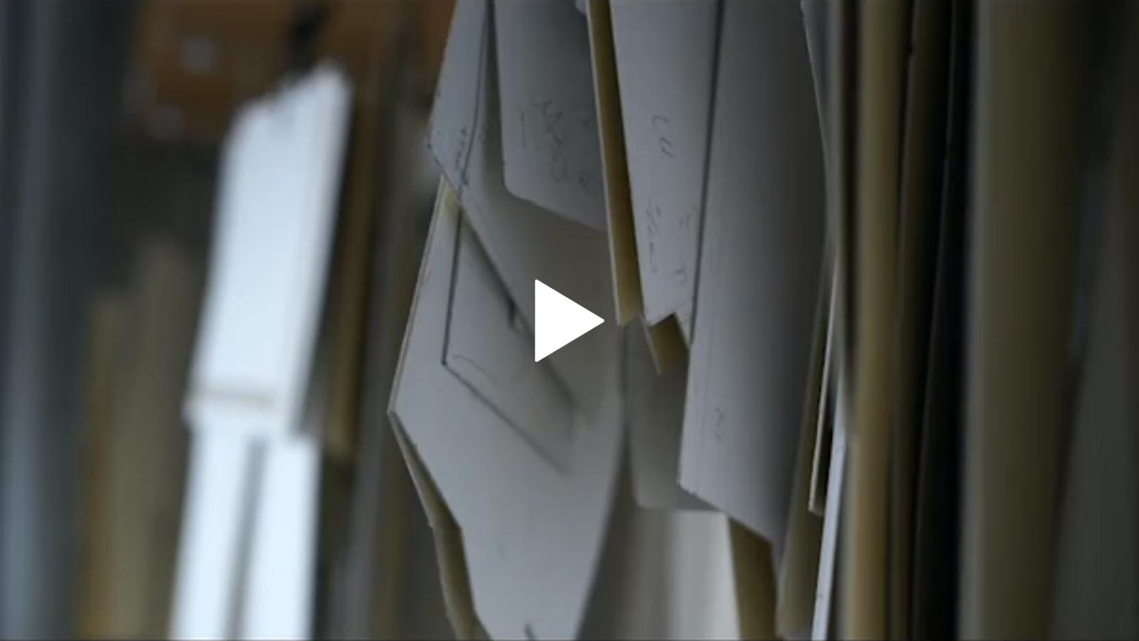 武冨ゆりさんのアトリエ取材動画