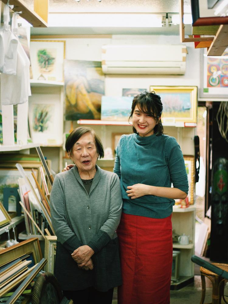 和田夏実さんと祖母