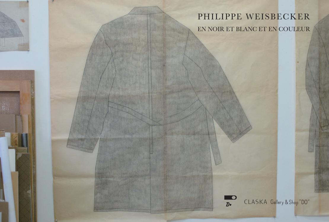 「PHILIPPE WEISBECKER|EN NOIR ET BLANC ET EN COULEUR」展ビジュアル
