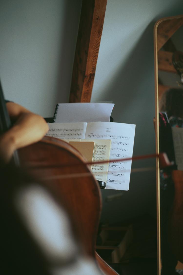 楽譜と楽器